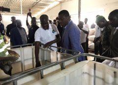 Inauguration de la Ferme LOFTY FARM par le Chef de l'Etat
